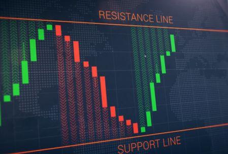 إستراتيجية خط الارتداد على منصة Binomo